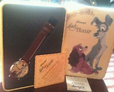 COLLECTORS PIECE!!!50 th anniversary Lady and the Tramp Watch