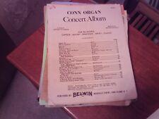 ed. Wildman: Organ Concert Album, book 1 (Belwin)