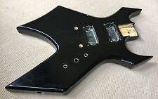 1995 BC Rich Warlock Electric Guitar Original Guitar Black Body