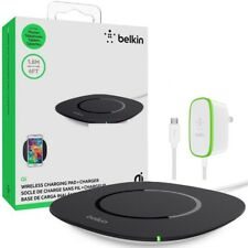 belkin Boost Up QI 5W Wireless Charging Pad +Charger Galaxy iPhone 8 Plus X S9