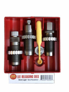 Lee Carbide 3-Die Set 9mm Luger -  90509 - 3 Die Set - Reloading die set!