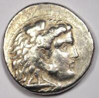 Alexander the Great III AR Tetradrachm Coin - 336-323 BC - Fine Condition!