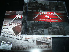 Metallica Six Feet Down Under Parts 1 & 2 Australian CD EP's - New