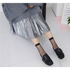 Girl Women Sexy Summer Fishnet Ankle Socks Lady Mesh Lace Fish Net Short Socks