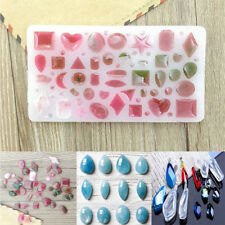 DIY Silicone Cabochon Mold Making Jewelry Pendant Resin Casting Mould Craft Tool