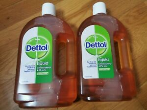 Sale!!! Dettol 750ml liquid,  Sell As Two Bottles Per Order, Two Type Of Bottles