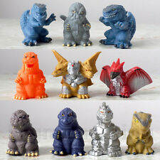 Rare Bandai Godzilla super collection 2 Finger Puppet Full set USA Godzilla 1998