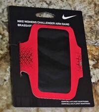 NIKE Challenger Arm Band Phone Carrier Running Training Crimson NIP Womens O/S