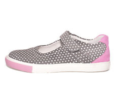 Richter Girls 31127336611 Grey Nubuck Leather Shoes UK 2 EU 34 US 2.5