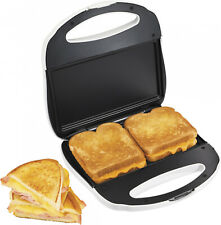 Panini Sandwich Maker Toaster Grilled Cheese Nonstick Breakfast Lunch Dinner New