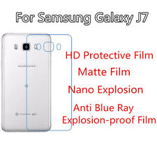 3pcs For Samsung Galaxy J7 HD Clear/Matte/Nano Explosion/Anti Blue Ray Back Film