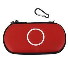 Sac Etui Coque Housse Rangement pour SONY PSP 1000 2000 3000 Slim Accs Rouge