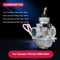 Motor Carburetor Carb For Yamaha TTR125 TTR 125 2000-2004 2001 2002 2003 VM24 US