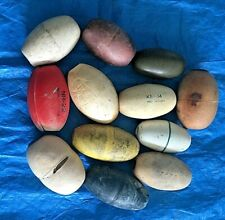12 Columbia River gillnet fishing floats / corks / styrofoam /plastic - vintage