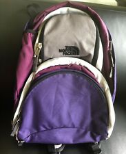 The NORTH FACE Backpack Diva Purple Gray