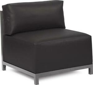 HOWARD ELLIOTT AXIS CHAIR ATLANTIS BLACK PVC POLYURETHANE POLYESTER POLY