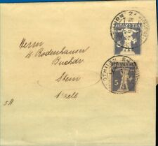 Switzerland 1913/26 Bundle of Tell Postal Stationery Wrappers with Different Rat
