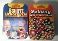 Reisespiele - Schiffe versenken/Gobang - vin Schmidt Mini (Schmidt Spiele) OVP