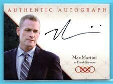 2013 ABC CZE Revenge AUTHENTICS Max Martini as Frank Stevens ON-CARD AUTO