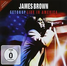James Brown - Get on Up: Live in America [New CD]