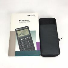 HP48G Series Graphing Calculator and User Guides with Case