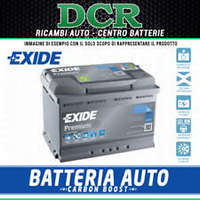 Batteria auto EXIDE EA722 ALFA AUDI BMW FORD JAGUAR LAND ROVER NISSAN OPEL PORSC