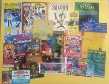 lot flyers documents cirque circus zirkus circo clown divers pays n°3
