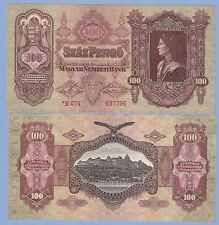 Hungary, 100 pengo, 1930 (1944-1945), with * asterisk, UNC, P 112