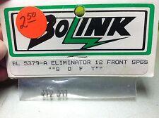 Vintage BoLink  Eliminator 12 Front Springs (SOFT). # BL5379-A
