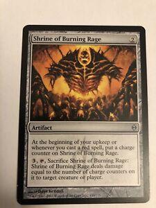MTG: Shrine of Burning Rage - New Phyrexia - Magic Card
