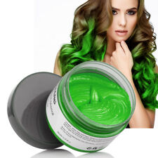 Hair Pomades Fashion Hair Coloring Strong Styling Hair Wax Disposable Dye Mud UK