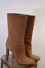 Wunderschöne Gucci Stiefel aus Wildleder in braun Gr. 38 *BITTE MESSEN* 270/30