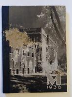 Vintage Mechanic Arts 1938 High School Yearbook, St. Paul MN