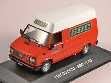 1983 FIAT DUCATO - GBC - 1/43 scale model by Altaya