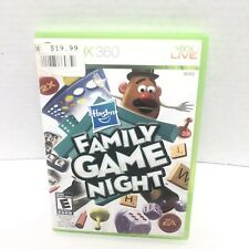 Hasbro Family Game Night (Microsoft Xbox 360, 2009) Complete