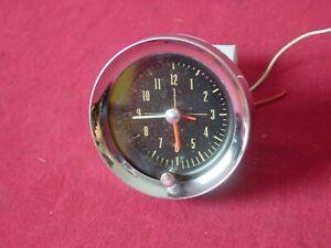 1962 1963 1964 Studebaker Hawk Clock Borg Instruments Nice Shape