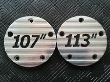 PERSONALISED CNC 3D ENGRAVED 5 HOLE TIMER IGNITION COVER FOR HARLEY DAVIDSON