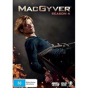 MacGyver Season 4 DVD ****NEW SEALED****Region 4 series four