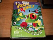 Frog Frenzy Episode 2: A Jungle Safari Adventure Game 2002 CD ROM WIN 95+ NEW