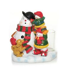 YANKEE CANDLE SNOW FOLK COLLECTION VOTIVE CANDLE HOLDER***NEW
