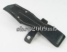 Leather WWII German Army Kar 98 Bayonet frog K98 Collectable Sheath Case Black