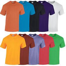 Gildan Heavy Cotton T Shirt Casual Leisure Work Sport Training GD005 46 Colours
