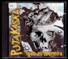 PUTAKASKA - Todo Es Mentira - SPAIN CD Discos Suicidas 2000 - 17 Tracks - NM