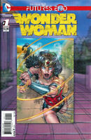 WONDER WOMAN #1 PLUS NINE 3D COVERS IN THE NEW 52 DC FUTURE'S END SERIES