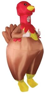 Turkey Inflatable Bouncer Adult Costume Airblown Thanksgiving Halloween