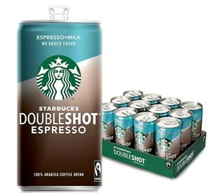 Starbucks DoubleShot Espresso No Added Sugar 200ML(Pack of 12) NEW FreeDelivery