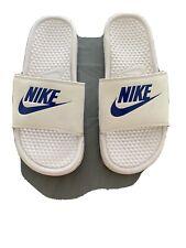Nike Benassi Jdi 343880 102 Mens Slider White Pool Beach Sliders Sandals UK 7