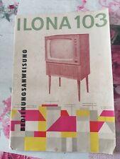 DDR Retro Stassfurt, Fernsehgeräte 1960...., Ilona
