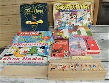 Gesellschaftsspiele Kinder/Erwachsene Paket Konvolut 12 Stück