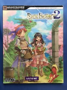 Rune Factory 2: A Fantasy Harvest Moon Bradygames Official Strategy Guides